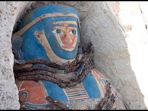 8 pharaonic era mummies have been discovered by archeologists as Ancient Egypt continues