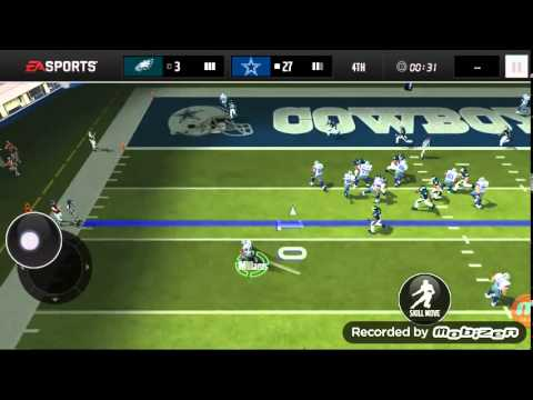 Madden mobile and dude perfect 2