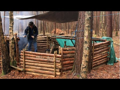 Bushcraft & Survival - Catch, Kill And Cooking Fish At Camp