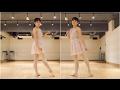 バレエ 前・後ろタンデュもかかとをチェック の動画、YouTube動画。