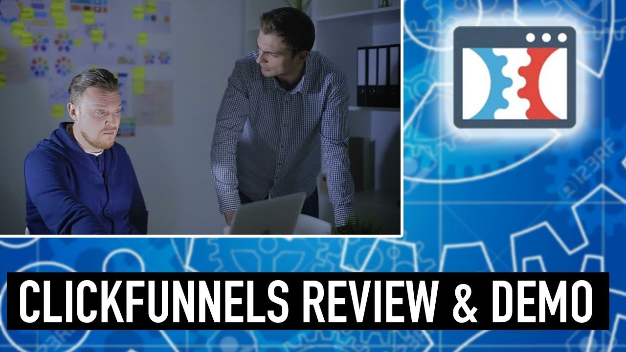 Clickfunnels Review & Demo - How to Create a Sales Funnel