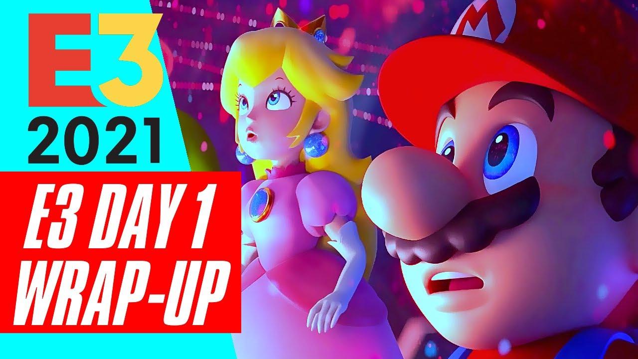 E3 2021 DAY 1 WRAP UP GAMEPLAY TRAILER EXCLUSIVE REVEAL + NEWS SHOWCASE AVATAR MARIO SIEGE R6 UBI