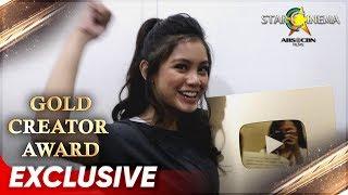 Star Cinema's Gold Creator Award   Ylona Garcia
