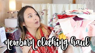 NEWBORN BABY CLOTHING HAUL!