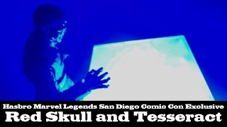 Marvel Legends Red Skull and Tesseract SDCC Exclusive Hasbro Review