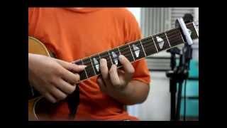 """Hướng dẫn """"If you - Big Bang"""" guitar tutorial (p2 verse) 세심한"""