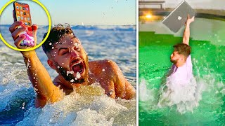 HILARIOUS 'CAN IT SWIM' CHALLENGE IS BACK!!