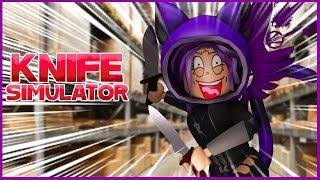 Roblox en espa'ol knife simulator clau y edu gameplays