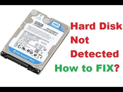 Image result for how to fix laptop hard drive not detected