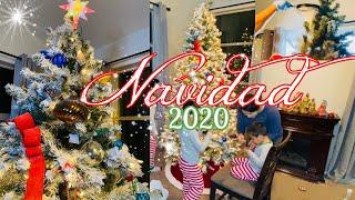 Decoracion NAVIDEÑA 2020 Decoracion Arbolito de Navidad. Mis hijos decoran mi arbol esta 🎄