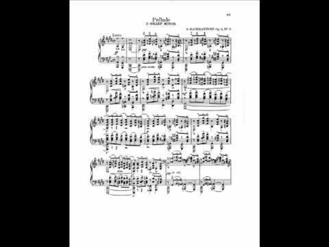 Ashkenazy plays Rachmaninov Prelude in C sharp minor, Op.3 No.2
