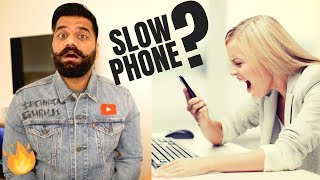 Why Smartphones get SLOW over time?? Solutions📱🐢🔥
