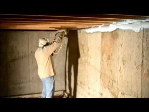 Energy Wise Homes- Spray Foam Insulation