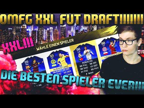 FIFA 16: XXL FUT DRAFT (DEUTSCH) - FIFA 16 ULTIMATE TEAM - FUT DRAFT - DIE BESTEN SPIELER EVER!!!