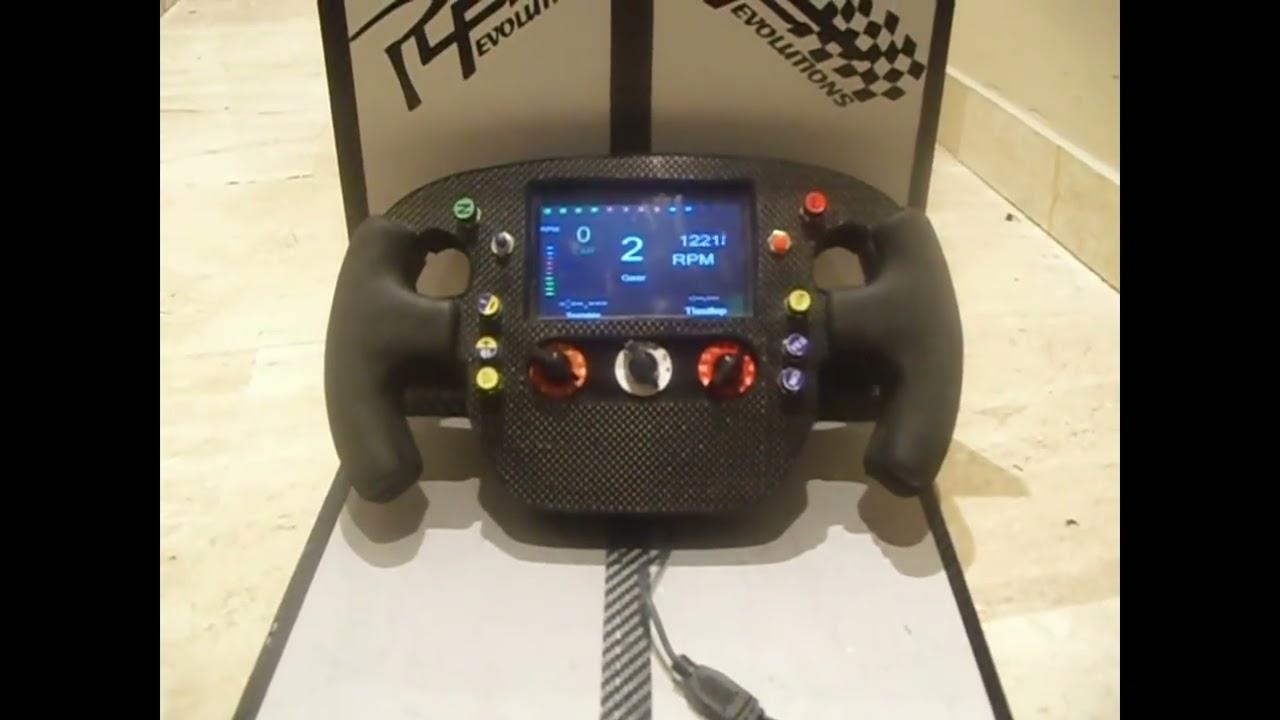 Steering Wheel Volante f1 Mclaren 2014 lcd logitech thrustmaster new pre  order