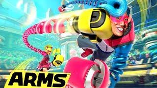 Volles Pfund aufs Maul | Arms Nintendo Switch mit Ilyass & Viet
