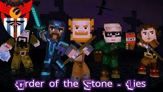 Order of the Stone - Minecraft Story Mode | Music Video | Dragonhearted - TryHardNinja