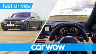 BMW M760Li xDrive V12 2018 POV review | Test Drives