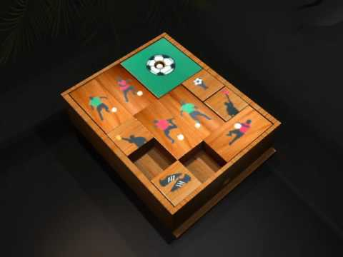 Wooden Soccer Ball Puzzle Solution