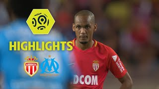 AS Monaco - Olympique de Marseille (6-1) - Highlights - (ASM - OM) / 2017-18