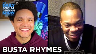 Busta Rhymes - Why He Waited 11 Years Between Albums | The Daily Social Distancing Show