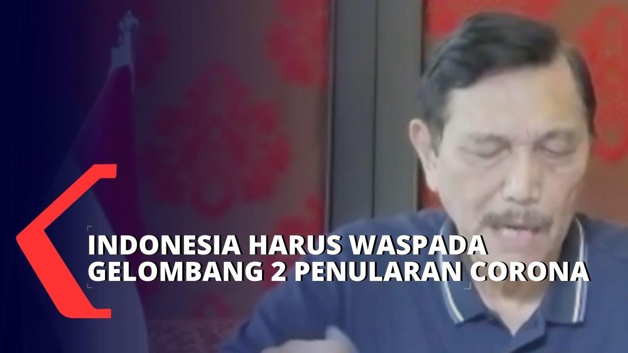 Luhut Binsar Indonesia Harus Waspada Gelombang 2 Penularan Virus Corona Youtube