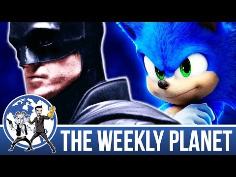 The New Batsuit & Sonic Review - The Weekly Planet Podcast