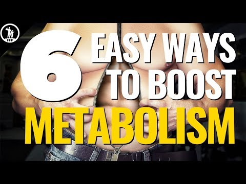 6 Great Ways to Boost Your Metabolism Naturally & 3 Habits to Avoid
