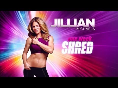Jillian Michaels One Week Shred Full Video (official)