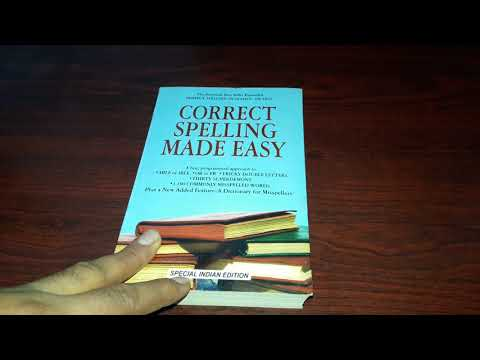 Improve Your Spelling Mistakes With This Book | Correct Spelling Made Easy Book Review