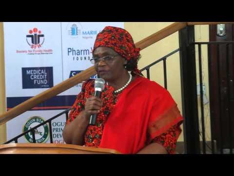 Madam Rati UNFPA Representative in Nigeria
