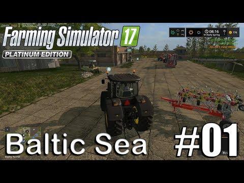 Farming SImulator 17 - Baltic Sea - Timelapse #1 - A fresh Start