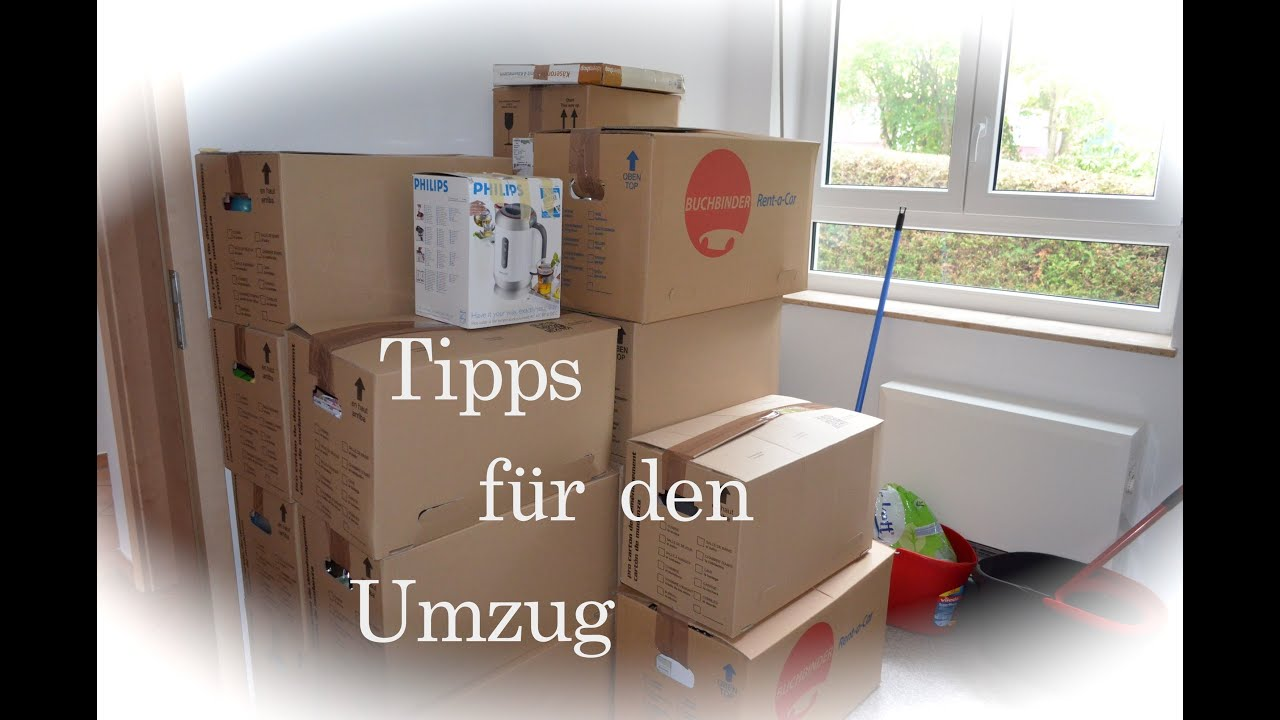 tipps f r den umzug youtube. Black Bedroom Furniture Sets. Home Design Ideas
