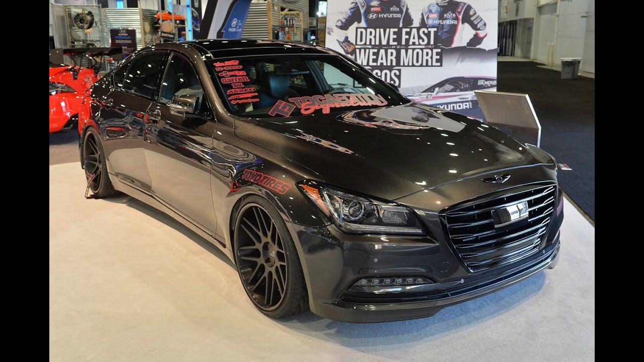 2015 Hyundai Genesis Toca Signature Edition Sema 2014