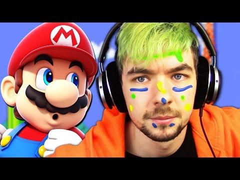 FACEPAINT OF DEATH CHALLENGE   Super Mario Maker #5
