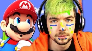 FACEPAINT OF DEATH CHALLENGE | Super Mario Maker #5