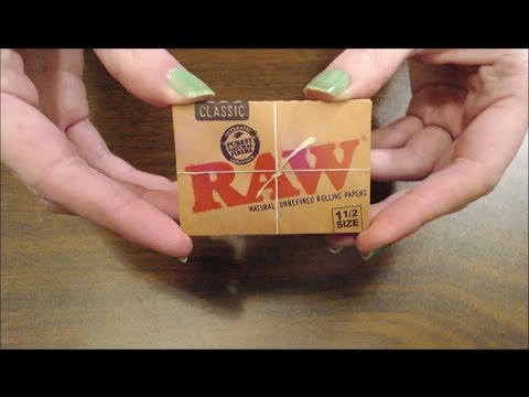 ASMR Tapping on Cannabis Supplies