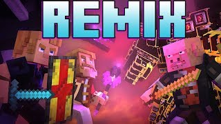 """Dragonhearted Remix"" (MINECRAFT SONG)"