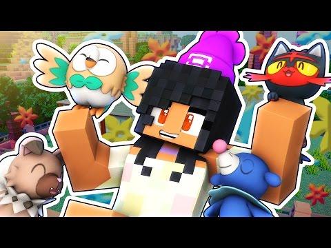 Alola Pokemon! | Pokemon Sun And Moon Minecraft Roleplay Adventure!