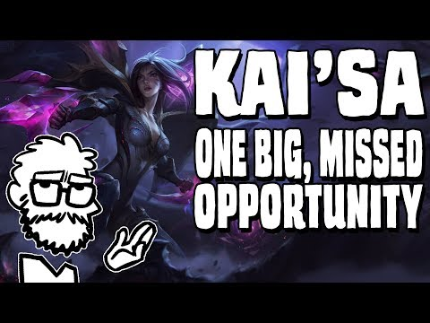 Kai'Sa - The Missed Opportunity |  Character design analysis