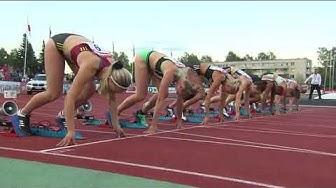 Naisten 100m Aitajuoksu - Annimari Korte 12,72 SE