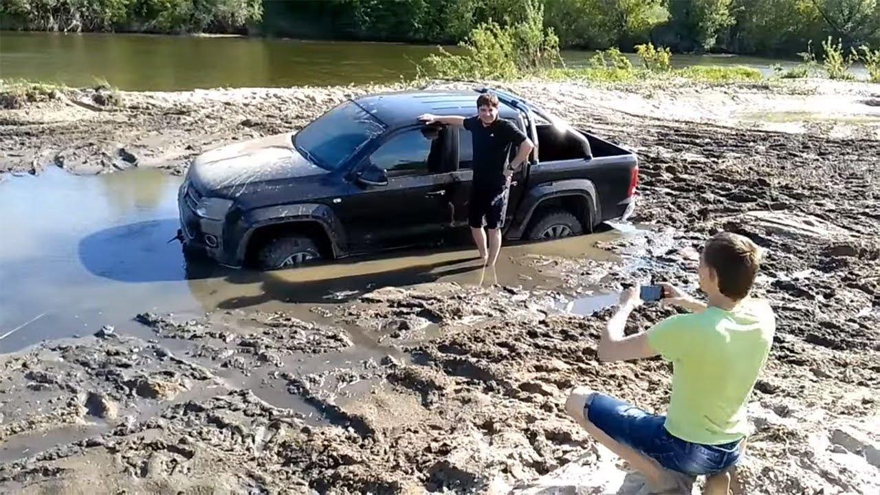 фольксваген амарок в грязи видео