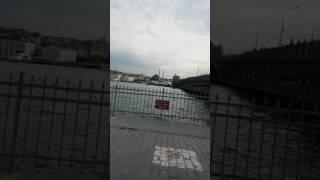 Karaköy Liman Galata köprüsü