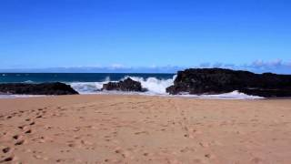 ?Ocean Waves Sounds with Relaxing Piano Music [FOR SLEEPING]