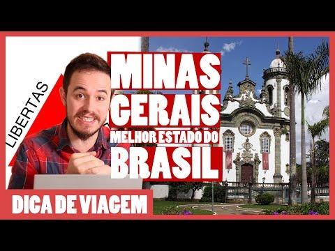 Por Que MINAS GERAIS é O MELHOR ESTADO Do Brasil?