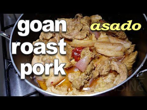 Goan Pot Roast Pork Recipe | Goan Pork Asado Recipe ||*Fatima Fernandes | Authentic Goan Pork Recipe