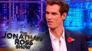 Andy Murray On Being Pranked By King of Clay Rafael Nadal - The Jonathan Ross Show