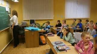 Учитель из Америки проводит урок в 4А классе !