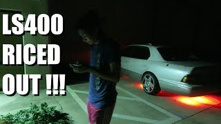 LS400 GETS HOT BOI UNDERGLOW !!!