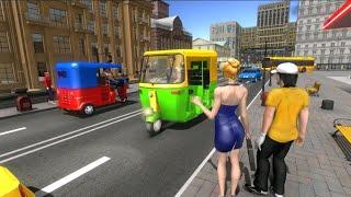 Modern tuk tuk auto rickshaw-Free racing Games screenshot 5